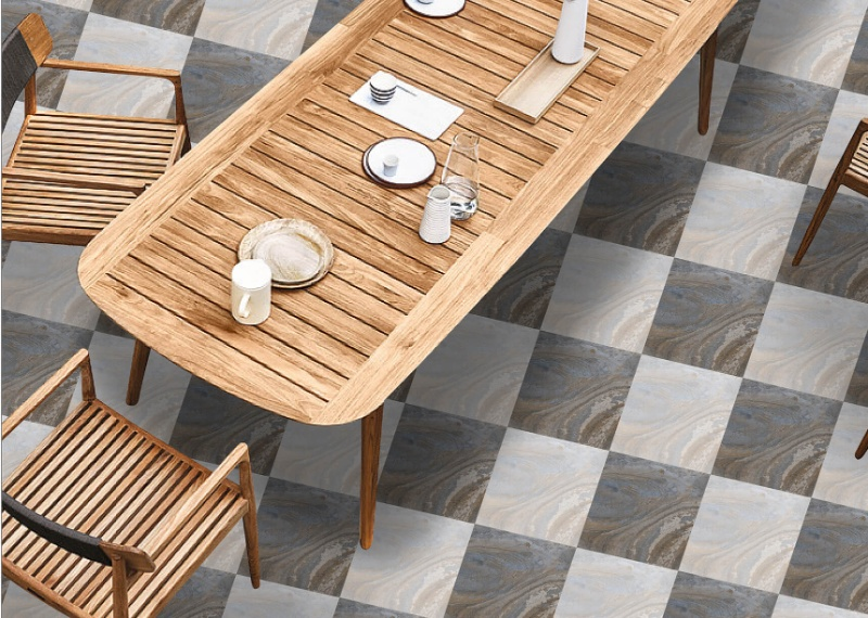 Bring classical and stylist tile
